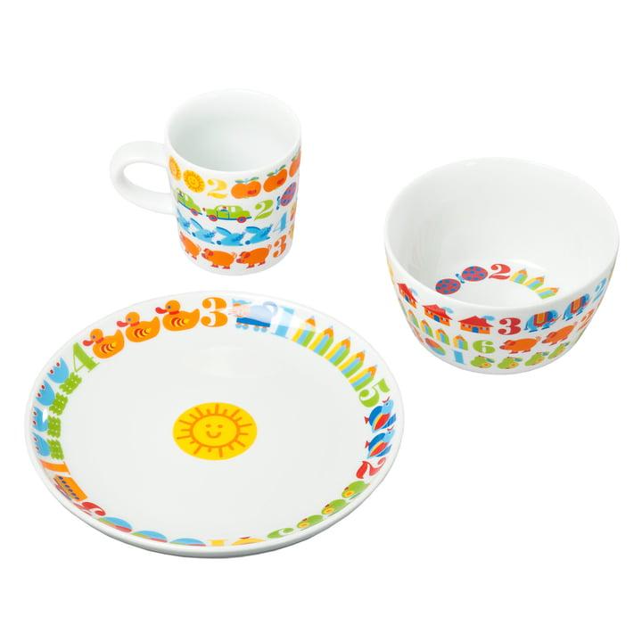 byGraziela - vaisselle pour enfants 1,2,3