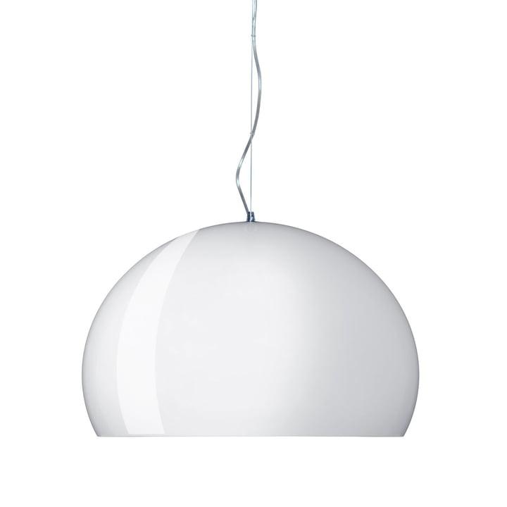 Kartell FL/Y Suspension lumineuse, blanc