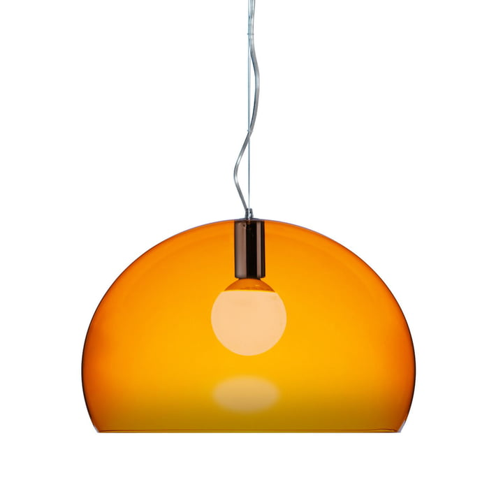 Kartell FL/Y Suspension lumineuse, orange