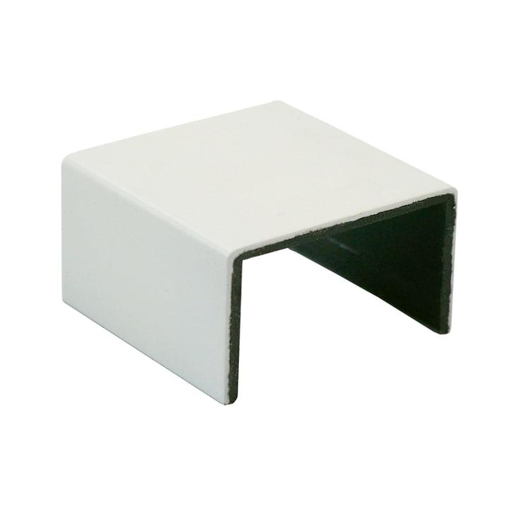Muuto - Clips « Stacked » système d'étagères, blanc (set de 5 pièces)