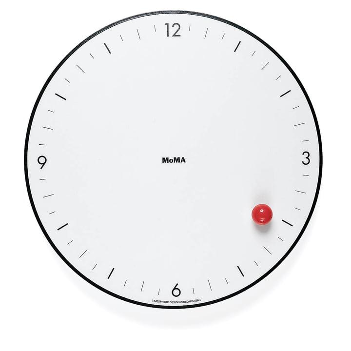 L'horloge murale Timesphere de la collection MoMA