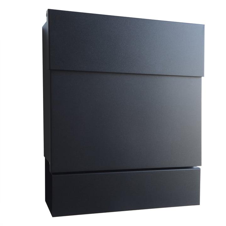 Radius Design - Boîte à lettres Letterman V, noir