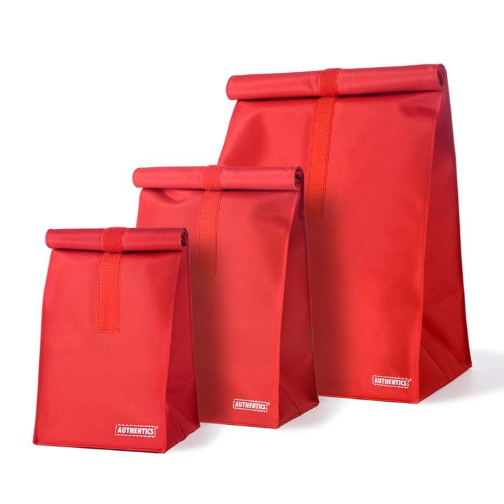 Authentics - Rollbag, rouge
