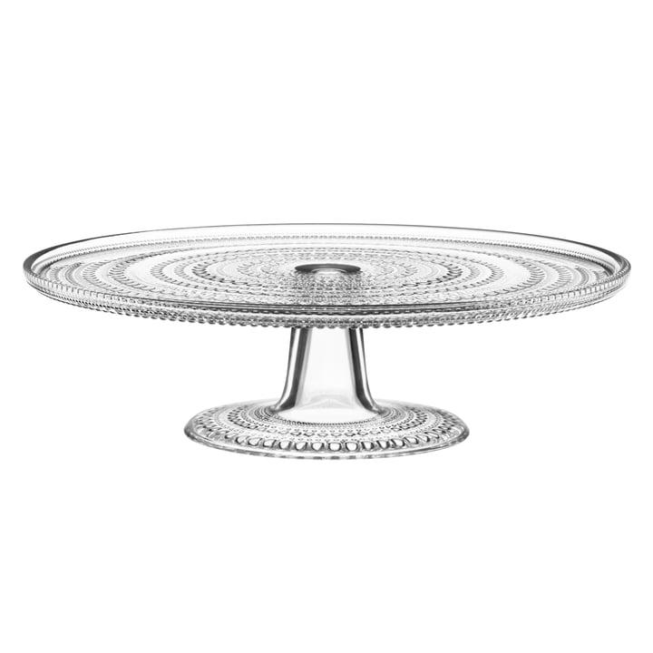 Iittala - Kastehelmi plat à tarte avec pied 31.5 cm, clair