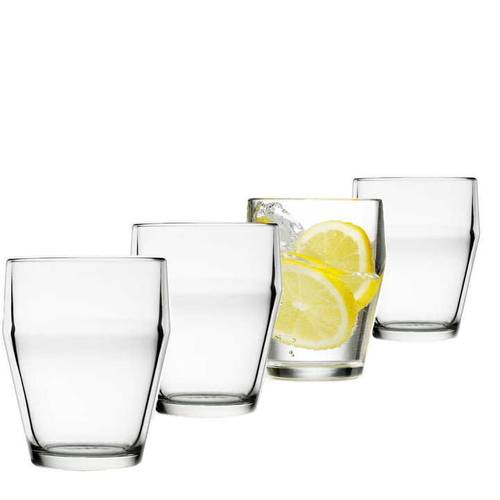 Design House Stockholm - Verres Timo Sarpaneva, lot de 4