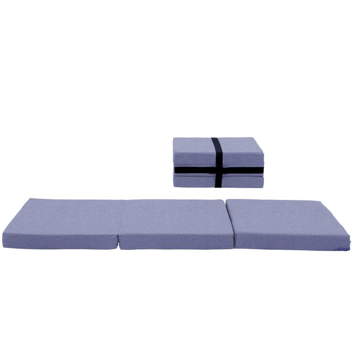 Softline - Matelas d'appoint Handy, Vision bleu-gris (441)