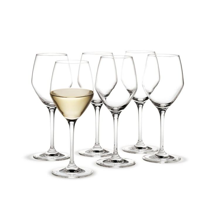 Holmegaard - verre à vin blanc Perfection, 32cl (lot de 6)