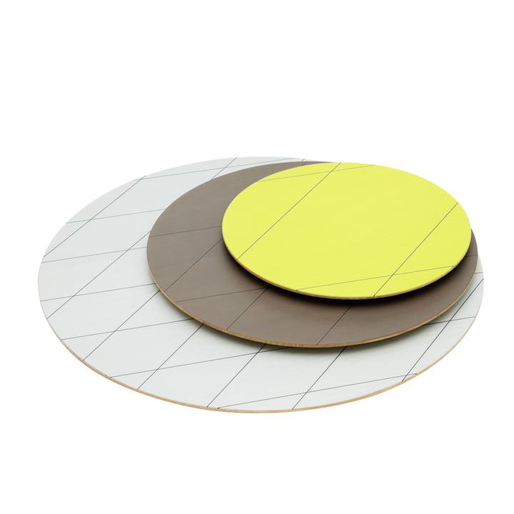 Karimoku - Assiettes Colour Platter (lot de 3), sand