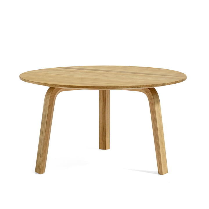 Bella Table basse Ø 60 cm / H 32 cm Hay en chêne naturel