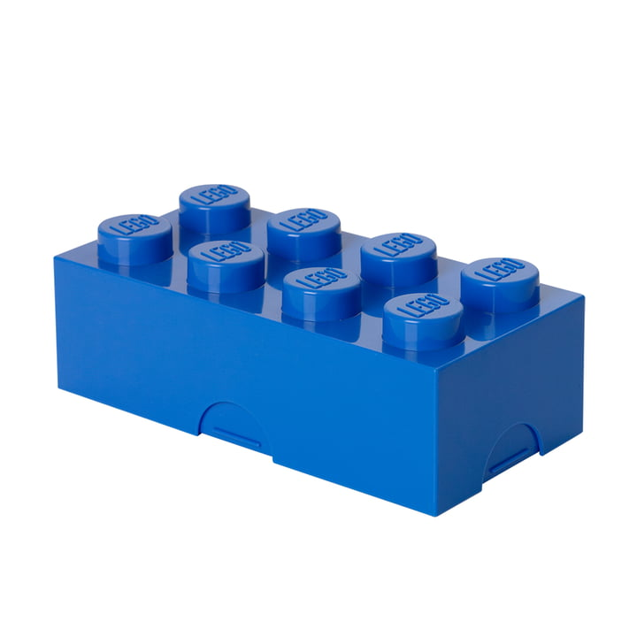Lego - Lunch Box 8, bleu