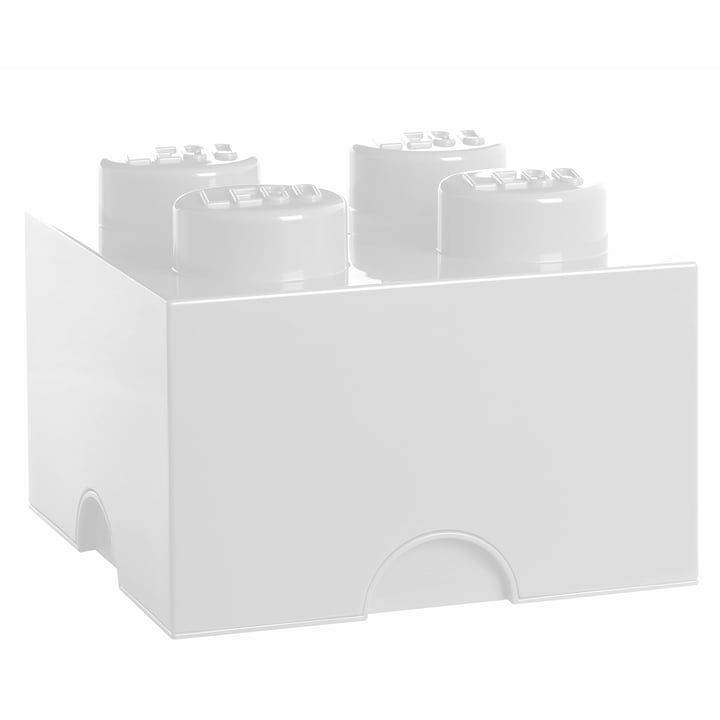 Lego - Storage Box 4, blanc