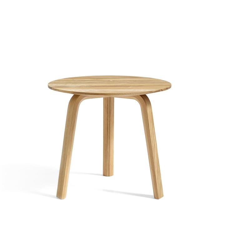 Bella Table d'appoint Ø 45 cm / H 39 cm Hay en chêne huilé