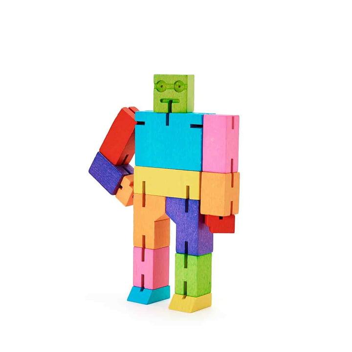 Areaware - Micro Cubebot, multicolore