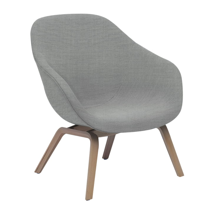 Hay - About A Lounge Chair Low AAL 83 en Remix gris clair 123