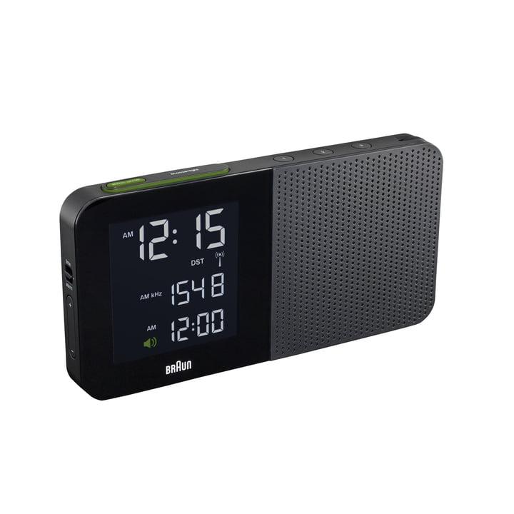 Braun - Radio-réveil numérique BNC010, noir