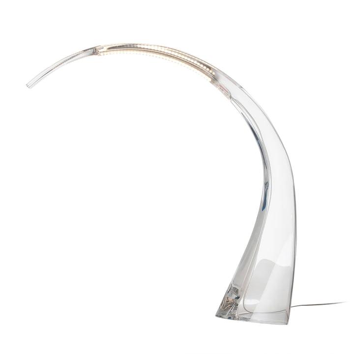 Kartell - Lampe de table Taj, transparent
