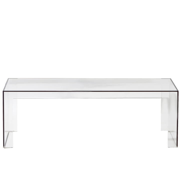 Kartell - Banc Invisible Side H40cm, transparent