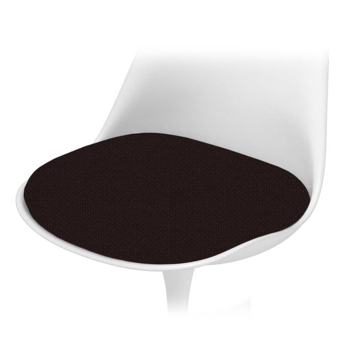 Knoll - Coussin d'assise pour la chaise Saarinen Tulip - Tonus, noir