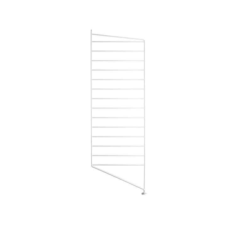 String élément de sol pour système de rayonnage, 85 cm, blanc