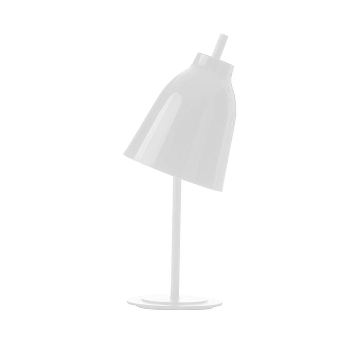 Lampe de table Caravaggio de Fritz Hansen en blanc brillant