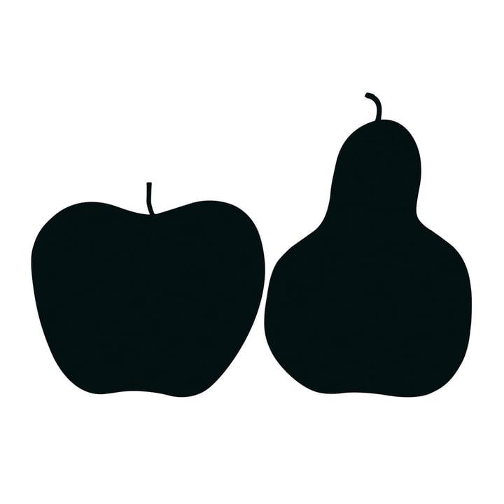 Danese Milano - Poster «Tre, la mela e la pera»