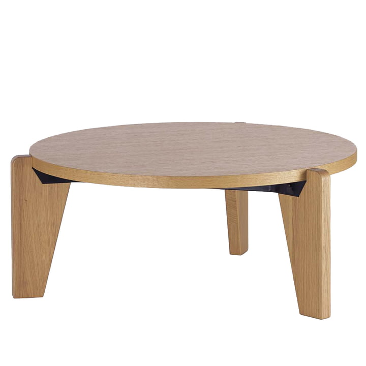 Vitra - Table basse Guéridon Bas, chêne naturel huilé