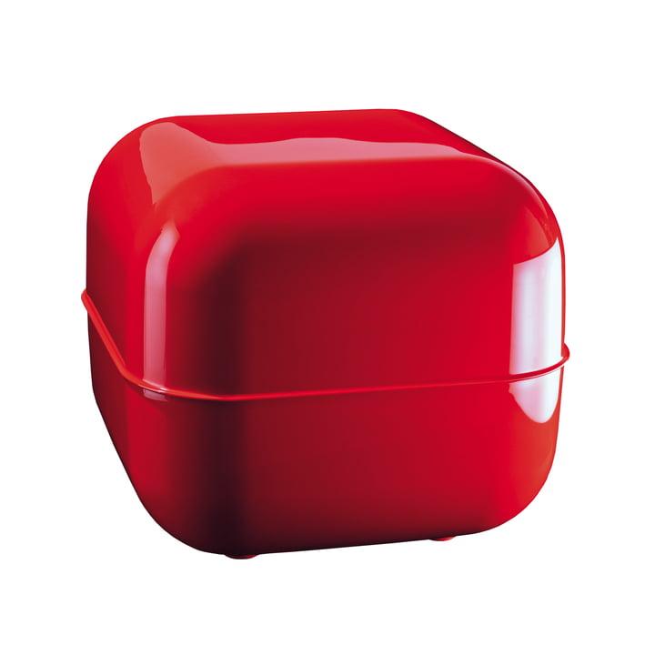 Magis - Tabouret/coffre Pebbles, rouge