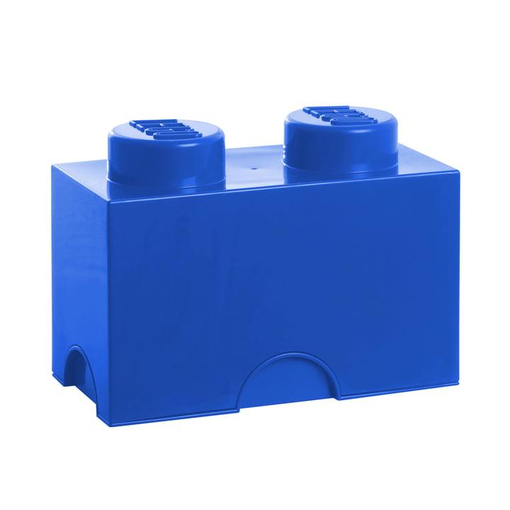 Lego - Storage Brick 2, bleu