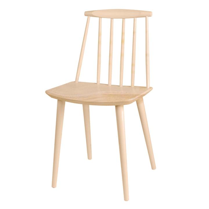 J77 Chaise par Foin en hêtre (naturel)