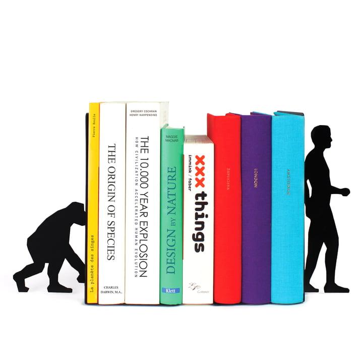 Doiy - Serre-livres Evolution Bookend - avec livres