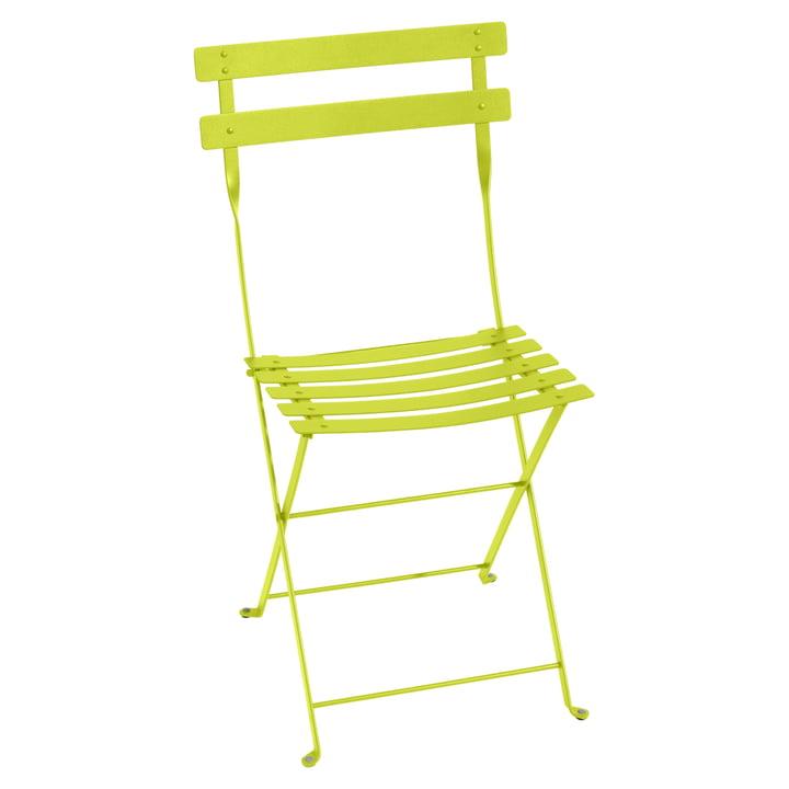 Bistro Chaise pliante de Fermob en métal verni