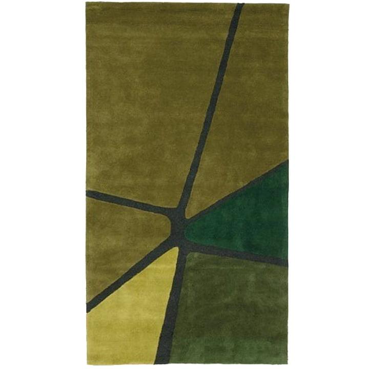 Ruckstuhl - Crack Tapis, vert olive