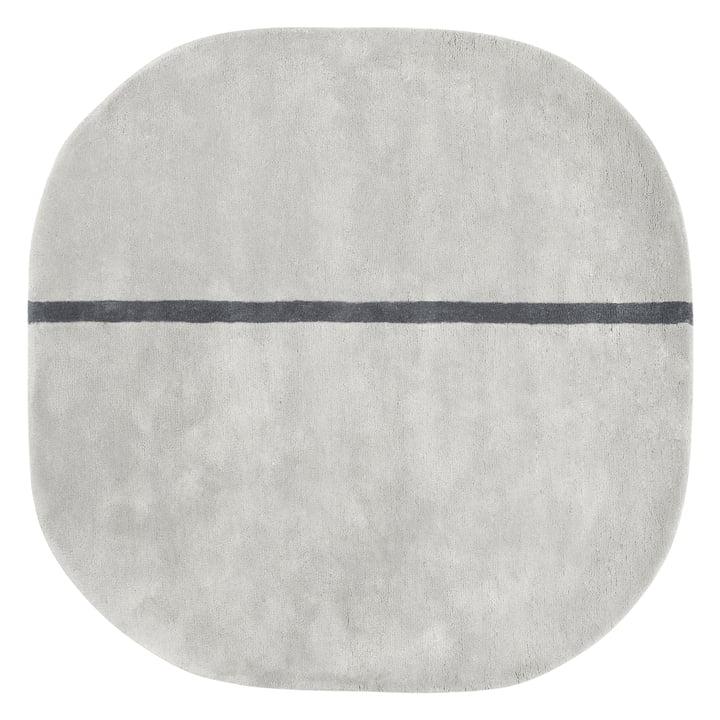 Normann Copenhagen - Oona Tapis, 140 x 140 cm, gris