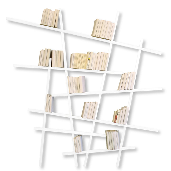 Edition Compagnie - Mikado Bibliothèque, grand, blanc
