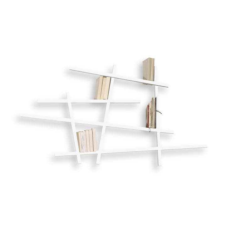 Edition Compagnie -  Mikado Bibliothèque, petit, blanc