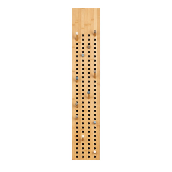 Nous faisons du bois - Tableau d'affichage armoire verticale, bambou naturel