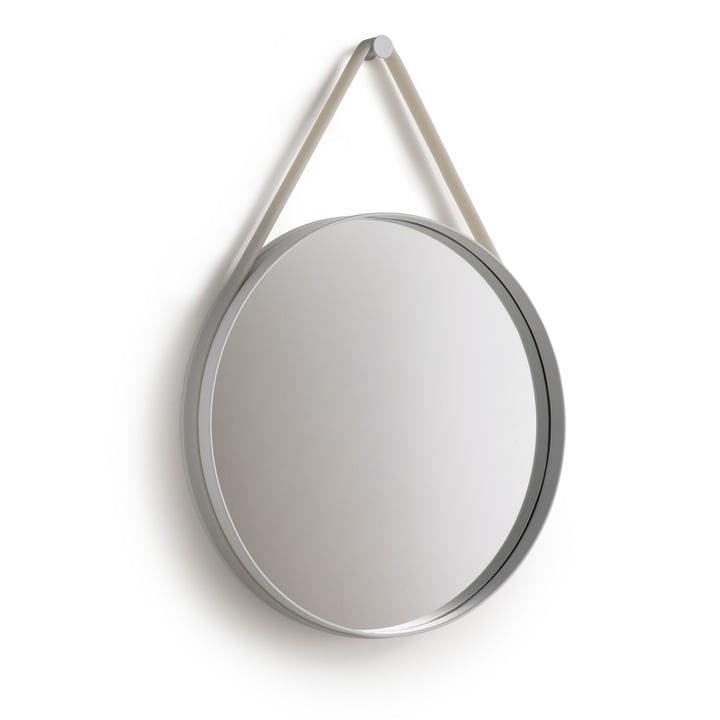Hay - Strap Mirror, gris, 50 cm