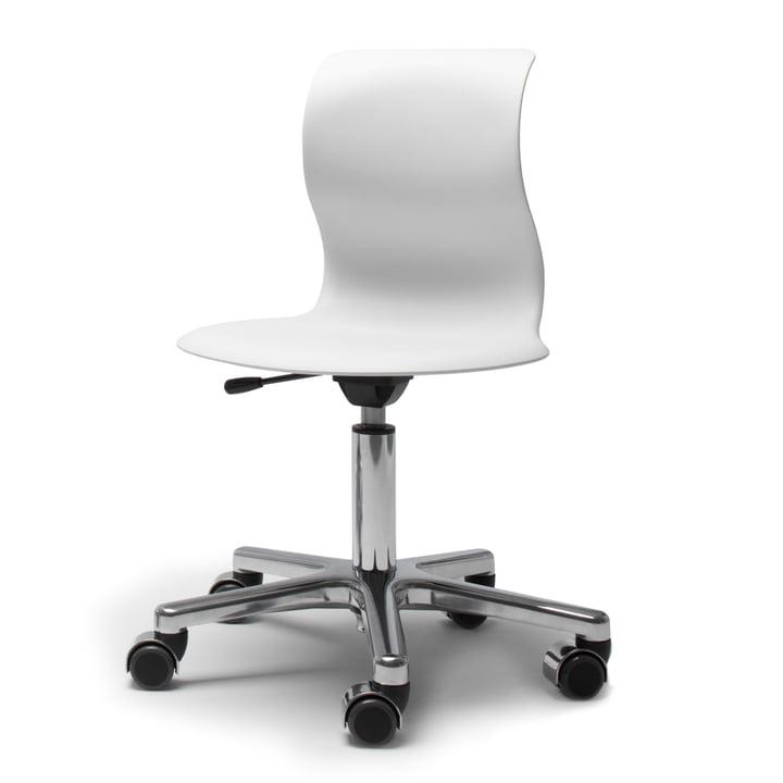 Flötotto - Pro 4 et 5 Chaise pivotante, blanc neige