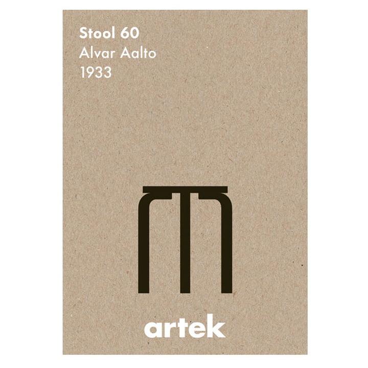 L'affiche Icon - Tabouret 60 de Artek