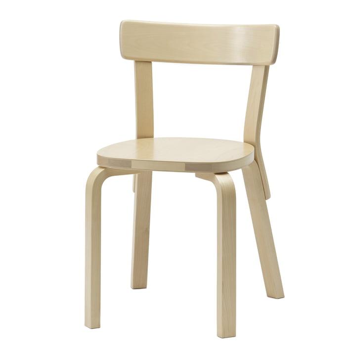 Artek - Chaise Chair 69, bouleau, non capitionnée