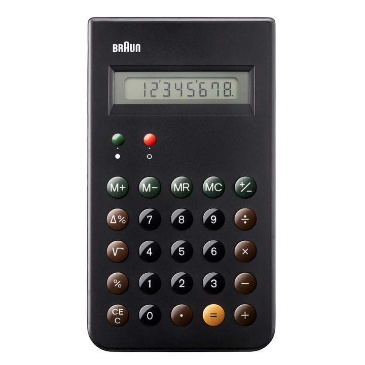 Braun, calculatrice de poche BNE001BK - vue de face