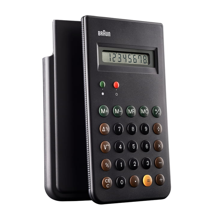 Braun - Calculatrice de poche BNE001BK - avec protection