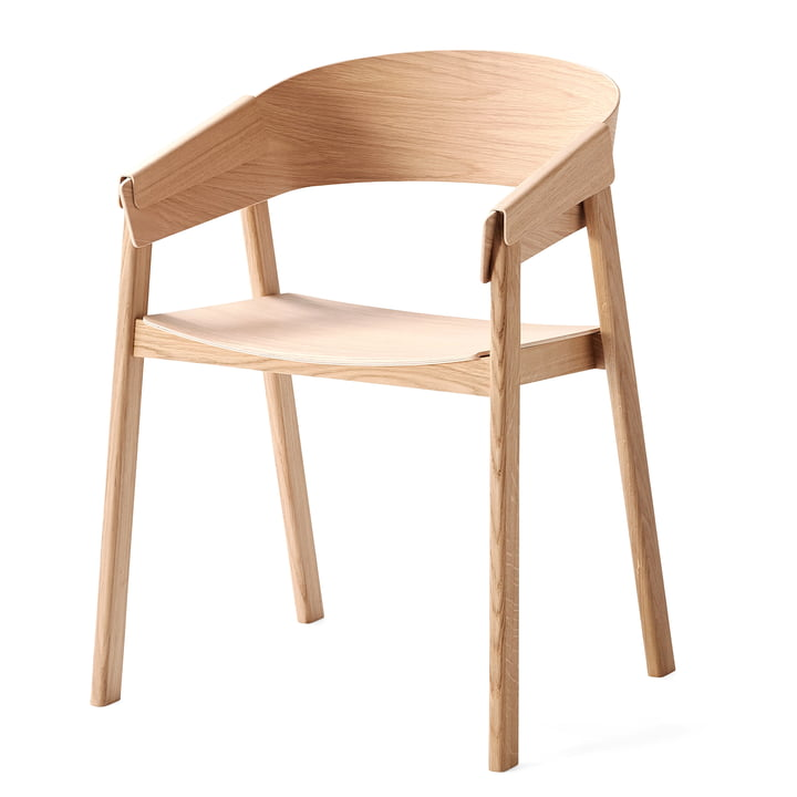 Muuto - Cover Chair, chêne