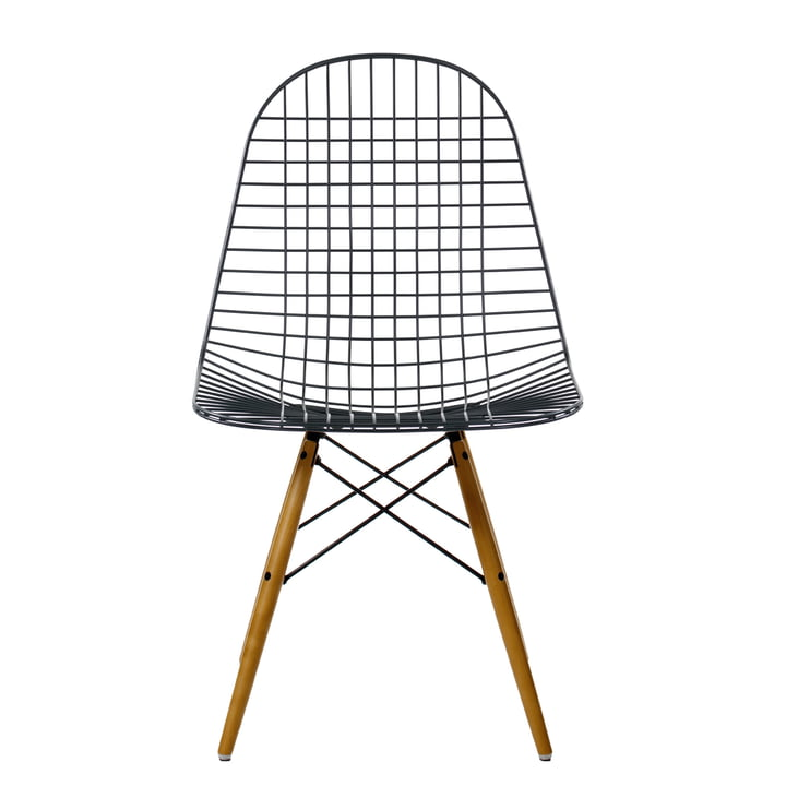 Vitra - Wire Chair DKW, érable jaunâtre - face