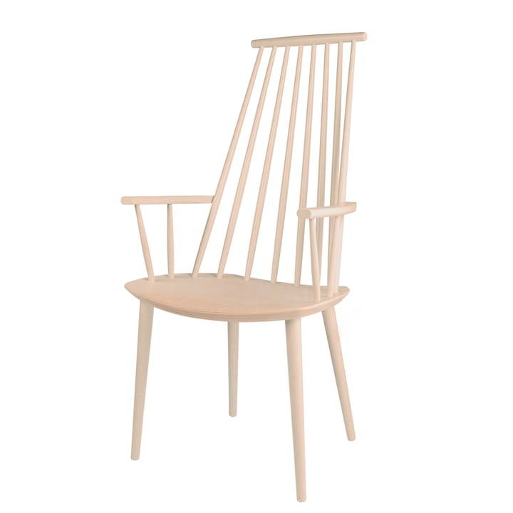 J110 Chair Hay en hêtre (naturel)