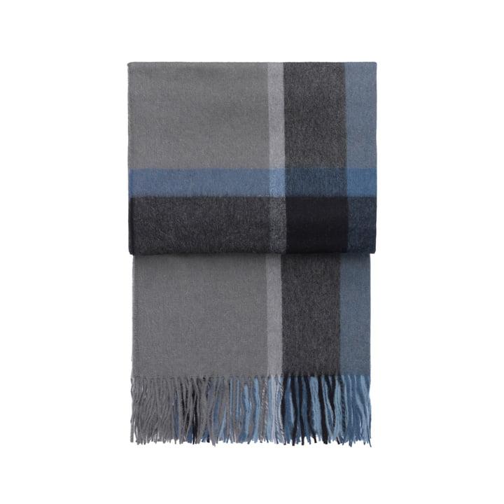 Elvang - Couverture Manhattan, bleu acier / océan poussiéreux