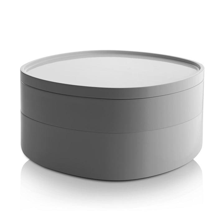 Alessi - Récipient pour salle de bain Birillo PL17W, blanc