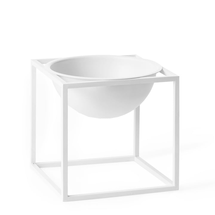 by Lassen - Kubus Bowl, petit, blanc