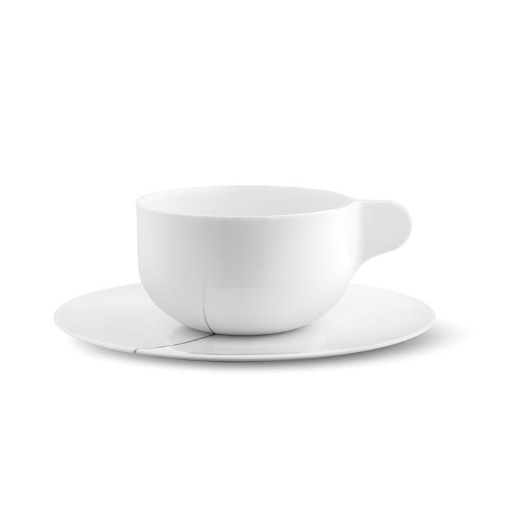 Georg Jensen - Tasses à thé avec soucoupes Tea with Georg