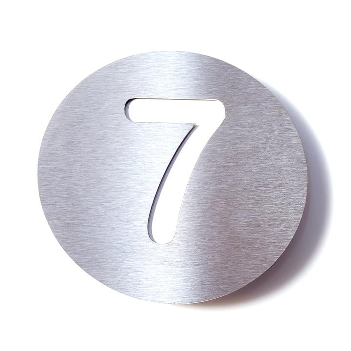Numéro de maison7 de Radius Design